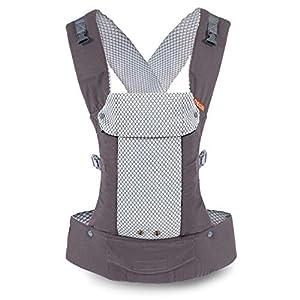 Porte-bébé Beco Gemini – Cool Grey, simple et élégant, 5 en 1, style sac à dos, pour tenir les bébés, les nourrissons et…