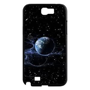 Shine Planet In Shiny Outer Space Case For Samsung Galaxy Note 2 Black