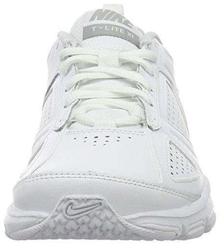 Nike T-lite Xi - Zapatillas de deporte Mujer Blanco (White / Metallic Silver Pure Platinum)
