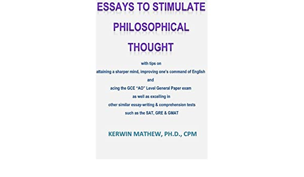 essays to stimulate philosophical thought with tips on attaining a  buy for others