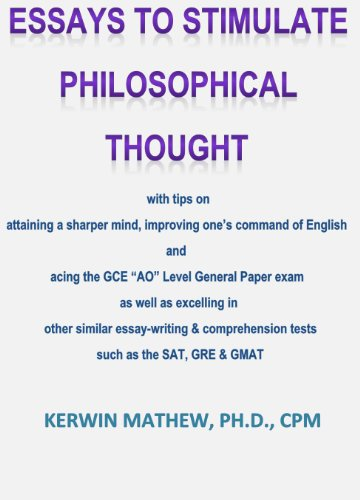 Essays To Stimulate Philosophical Thought With Tips On Attaining A  Essays To Stimulate Philosophical Thought With Tips On Attaining A Sharper  Mind Improving Ones Command