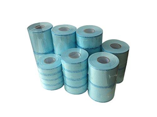 Sterilization Pouches High temperature Sterilization Bag Pouch Color Instructions (150mm X 200M) by SCS Dental