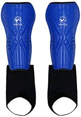 3 Pair Light Football Shin Pads Soccer Guards Sport Leg Protector Kids Adult