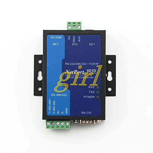 Lysee Industrial serial port server MODBUS gateway RS485 422 and 232 to Ethernet module NP801D