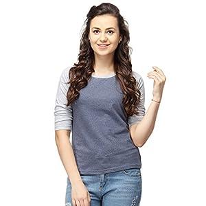 Campus Sutra Women's Cotton T-Shirt