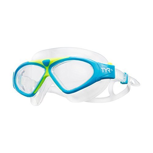 TYR MAGNA SWIM MASK Blue/Yellow and -