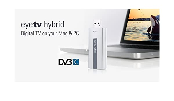 Geniatech EyeTV Hybrid, USB 2 Stick de TV digital para DVB-C Cable conector: Amazon.es: Electrónica