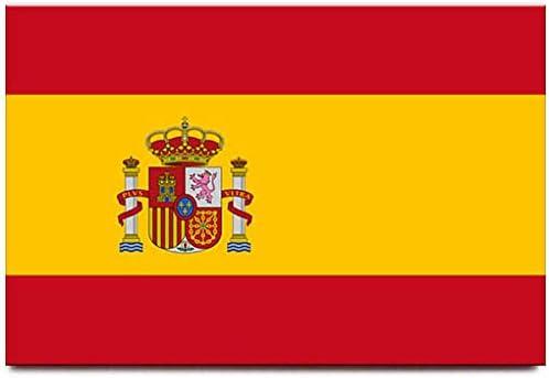 Imán para nevera de bandera de España Madrid Barcelona viaje Souvenir: Amazon.es: Hogar
