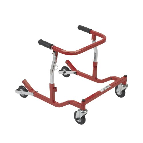 Wenzelite Anterior Safety Rollers, Red, Tyke
