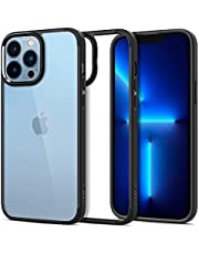Spigen Compatible for iPhone 13 Pro Max Case Ultra Hybrid - Matte Black