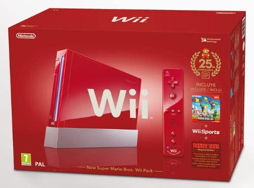Wii Sports Red+New Super Mario Bros: Amazon.es: Videojuegos