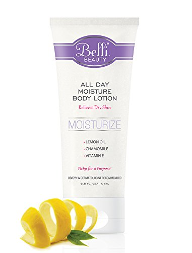 Belli All Day Moisture Body Lotion – Relieves Dry Skin – OB/GYN and Dermatologist Recommended – 6.5 oz. from Belli Skin Care