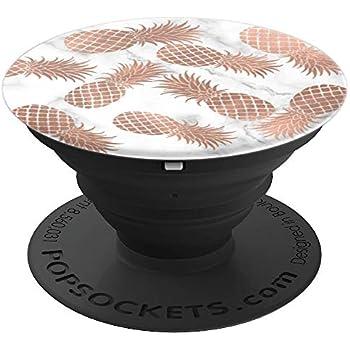 Amazon Com Rose Gold Pineapple Popsocket Pattern On