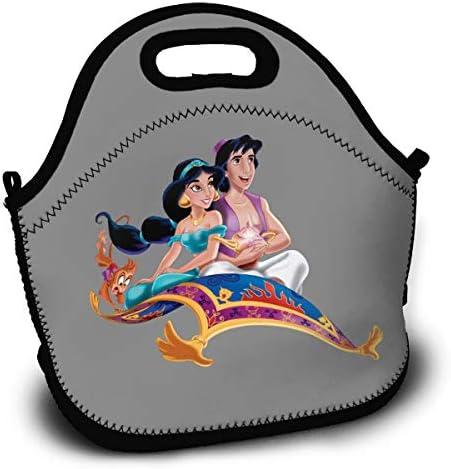 アラジン Aladdin3 大容量おしゃれ 弁当袋 多機能 おしゃれ 弁当袋 保冷 保温 防水ポータブル ランチバッグ 弁当袋 家庭の必需品 弁当袋 食品収納