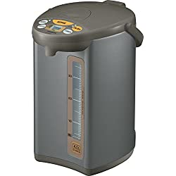 Zojirushi CD-WBC40-TS Micom 4-Liter Water Boiler and Warmer, Silver Brown