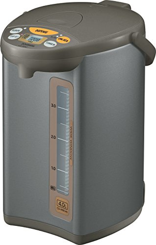 Mobile Unit Dispensing (Zojirushi CD-WBC40-TS Micom 4-Liter Water Boiler and Warmer, Silver Brown)