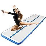 H&A Inflatable Gymnastic Tumbling Mat Anti-Skid Air Track Floor Mattress