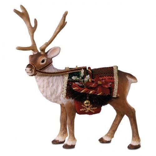 Hallmark 2017 Reindeer Father Christmas Limited Edition Ornament ()
