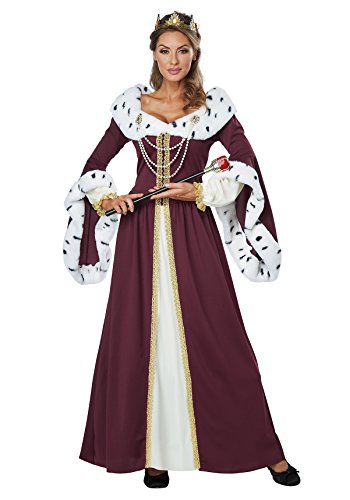 Royal Queen Costumes (California Costumes Royal Storybook Queen Adult Costume M)