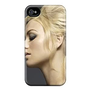 Hot Yvonne Strahovski Celebrity First Grade Tpu Phone Case For Iphone 4/4s Case Cover