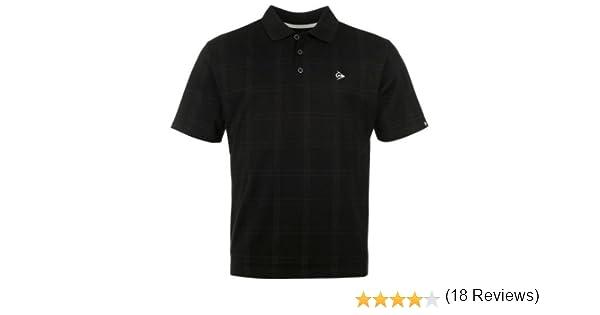 Dunlop Golf Tour Hombre de Polo Camiseta Cuadriculado, Verano ...
