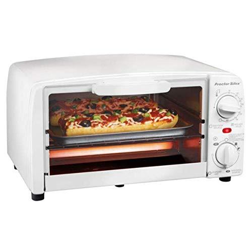 Hamilton Beach 31116Y Proctor Silex 4 Slice Toaster Oven Broiler White,