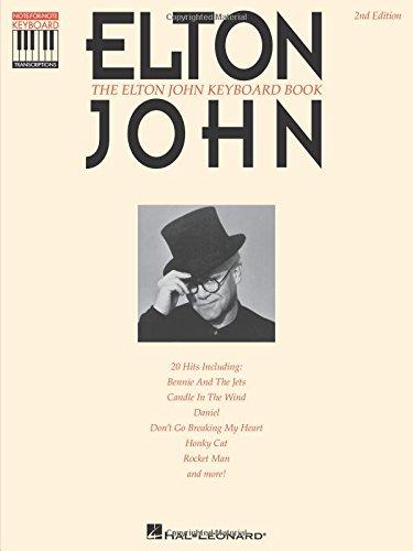 The Elton John Keyboard Book Elton John 9780793514786 Amazon