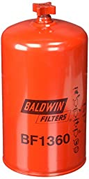 Baldwin BF1360 Water Separator Spin-On with Drain