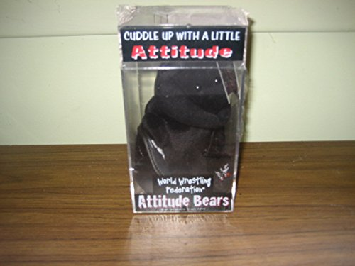 Stone Cold Steve Austin WWF WWE Attitude Bear Mint in Case and Tags - Wwf Mint Wwe