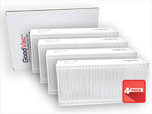 GOODVAC HEPA Filter to Replace Honeywell Part HRF201B, Filter U and to fit HHT270 HHT290 HEPA Clean Air Purifiers (4)