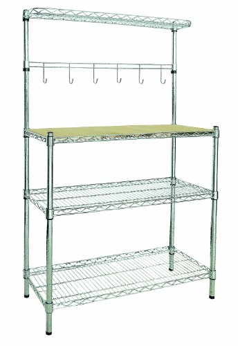 Sandusky BR351460 Bakers Rack, 3 Shelves by Sandusky