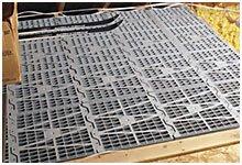 Attic Dek Flooring -Pack of 4 panels (Gray) (24