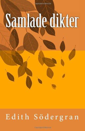 """""""Samlade dikter (Swedish Edition)"""" av Edith Södergran"""