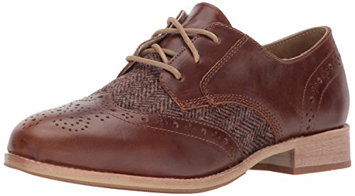 Caterpillar Women's Reegan II lace up Leather Oxford, Brown Sugar, 9 Medium US