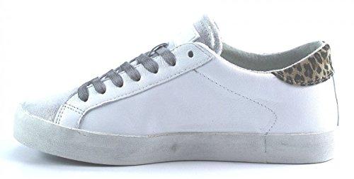EU 41 POP Size T Women A D LEOPARD E DATE WWHITE Shoes qvwP5X6