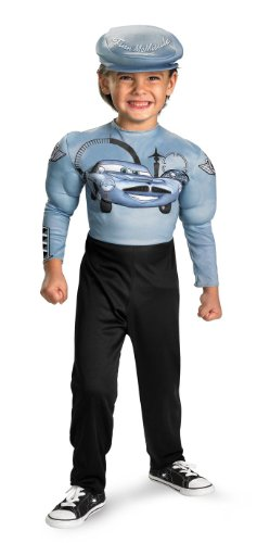 Finn McMissile Muscle Classic Child Costume - Medium - Kids Classic Muscle Finn Mcmissile Costumes