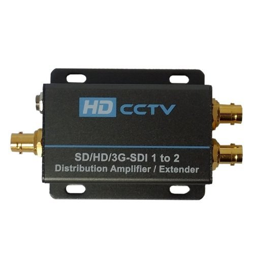 HD CCTV 3G-SDI/HD-SDI/SDI 1 to 2 Distribution Amplifier & Extender