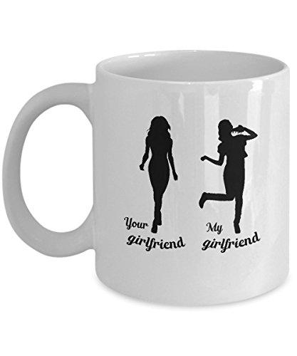 Funny girlfriend gifts My girlfriends Pizza Mug