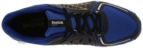 Reebok Mens Smoothflex Flyer Scarpe Da Corsa Reebok Royal / Reebok Navy / Ultimate Giallo / Nero / Bianco