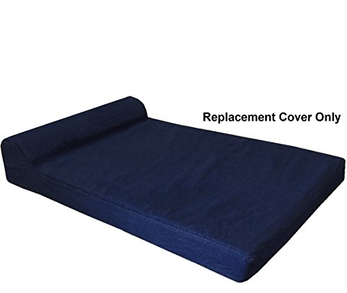 Dogbed4less HeadRest Dog Pet Bed Denim External Cover - Repl