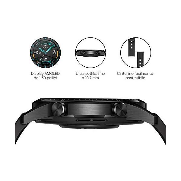 HUAWEI Watch GT 2 Smartwatch 46 mm, Durata Batteria fino a 2 Settimane, GPS, 15 Modalità di Allenamento, Display del… 5