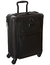 Tumi Alpha 2 International 4 Wheel Slim Carry-On, Black, One Size
