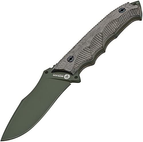 Boker 02BA3163 Arbolito Buffalo Soul 42 Knife with N695 Stainless Steel Blade, 4