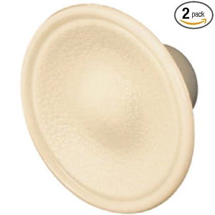 Slide-Co 161522 Bi-Fold Door Pull Knob, Ivory/Plastic, (Pack of 2 ...