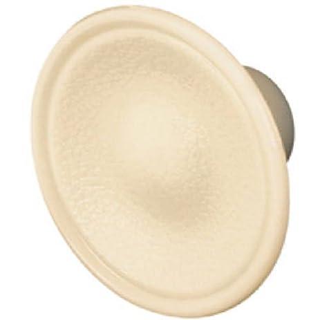 slide co 161522 bi fold door pull knob ivory plastic pack of 2