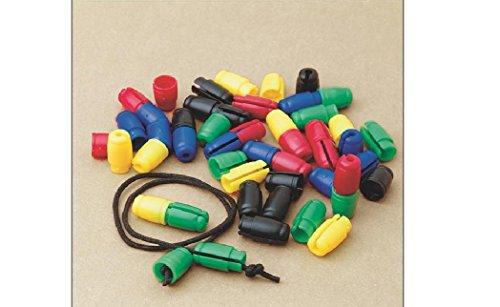 Pacon Break-Away Necklace/Bracelet Clasps, Assorted Colors, ()