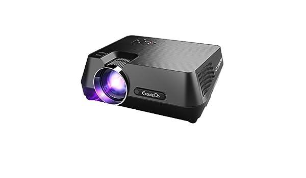 exquizon gt-s9 Proyector de vídeo 800 * 480 portátil Multimedia ...