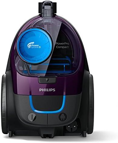 Philips FC9333/09 Aspirateur PowerPro Compact cylindrique sans sac 650 W A 25 kWh