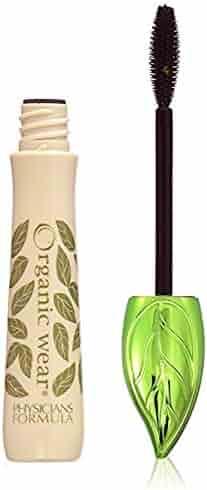 Physicians Formula Organic Wear 100% Natural Origin Mascara, Black Organics, 0.26 Ounce