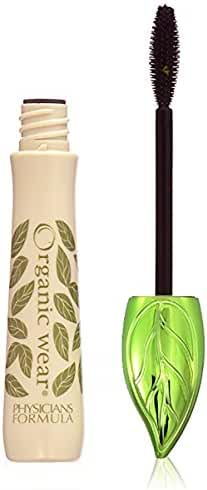 Physicians Formula Organic Wear 100% Natural Origin Mascara, Black Organics, 0.26 Ounce